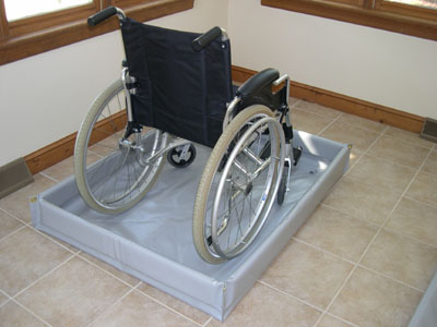 portable handicap shower stall